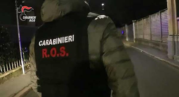Beni per 25 milioni di euro sequestrati dal Ros a Cosa Nostra a Catania