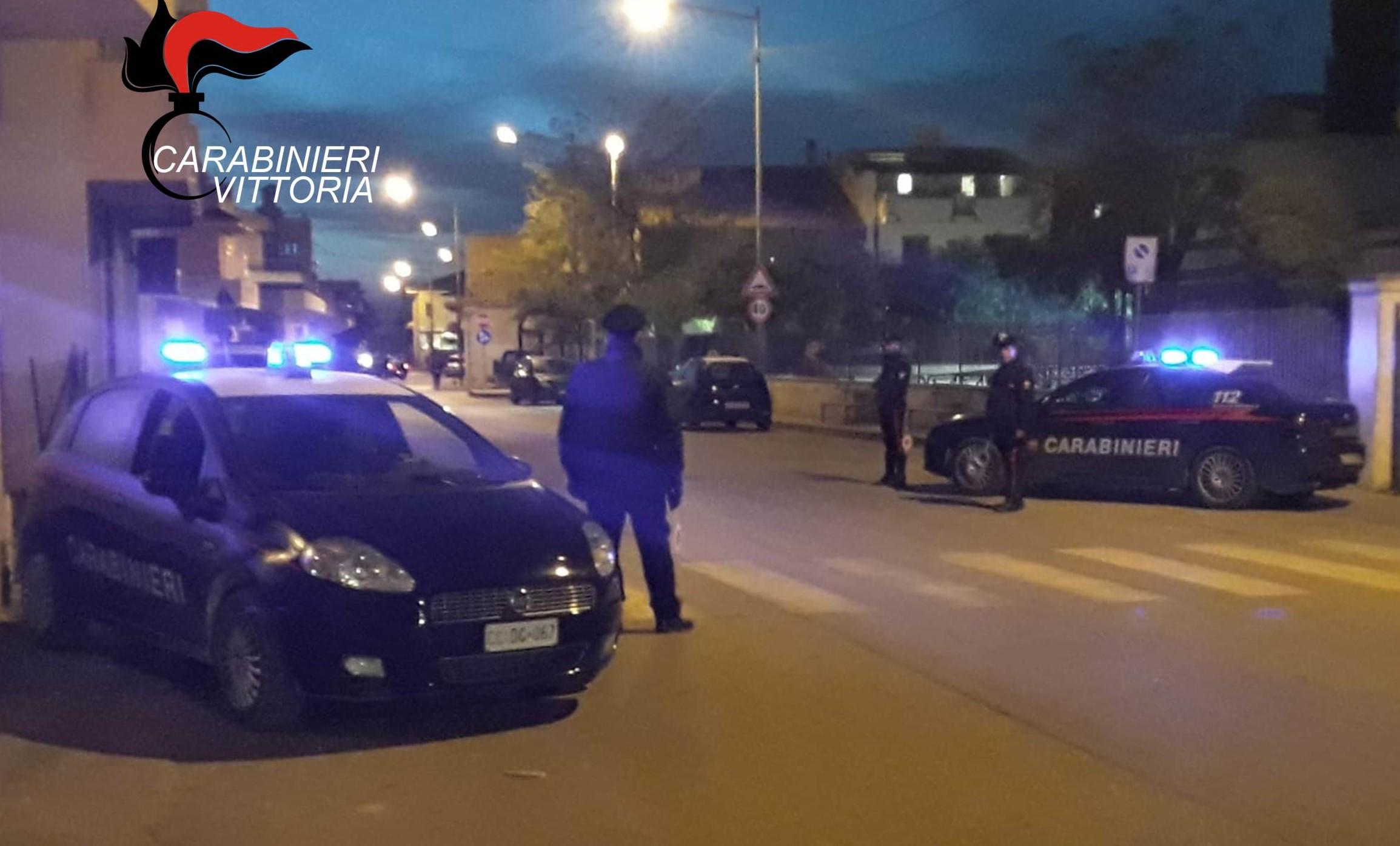 Vittoria, carabinieri sventano colpo in un supermercato