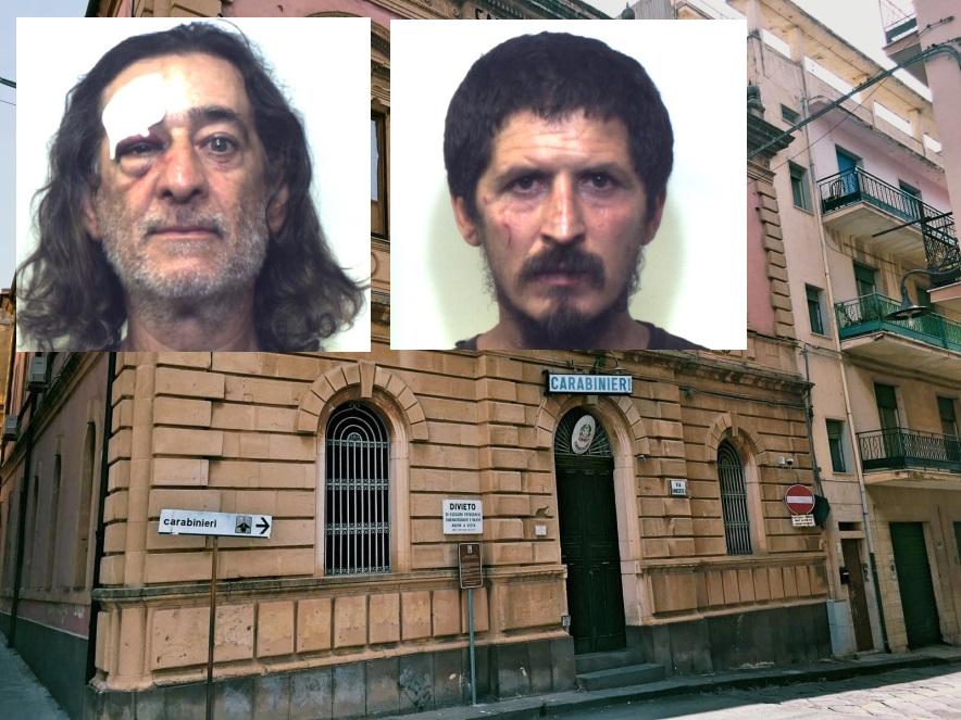 Rissa in pieno centro a Francofonte, due persone arrestate