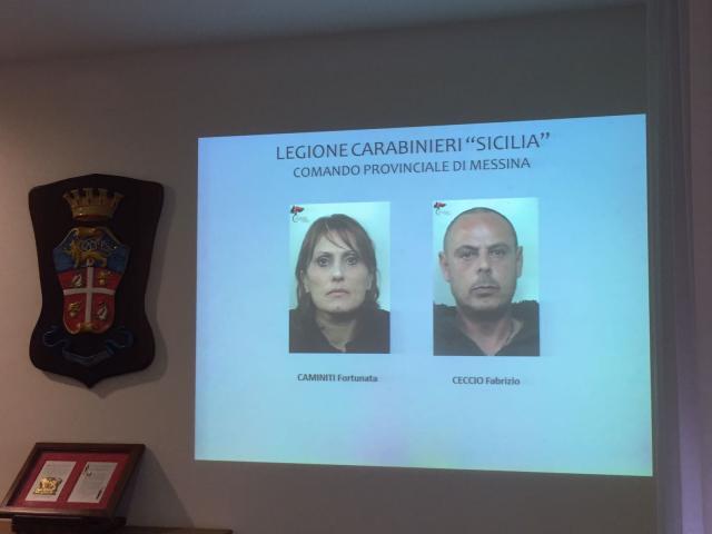 Preso un latitante a Messina: arrestata pure la moglie, avevano 2 pistole