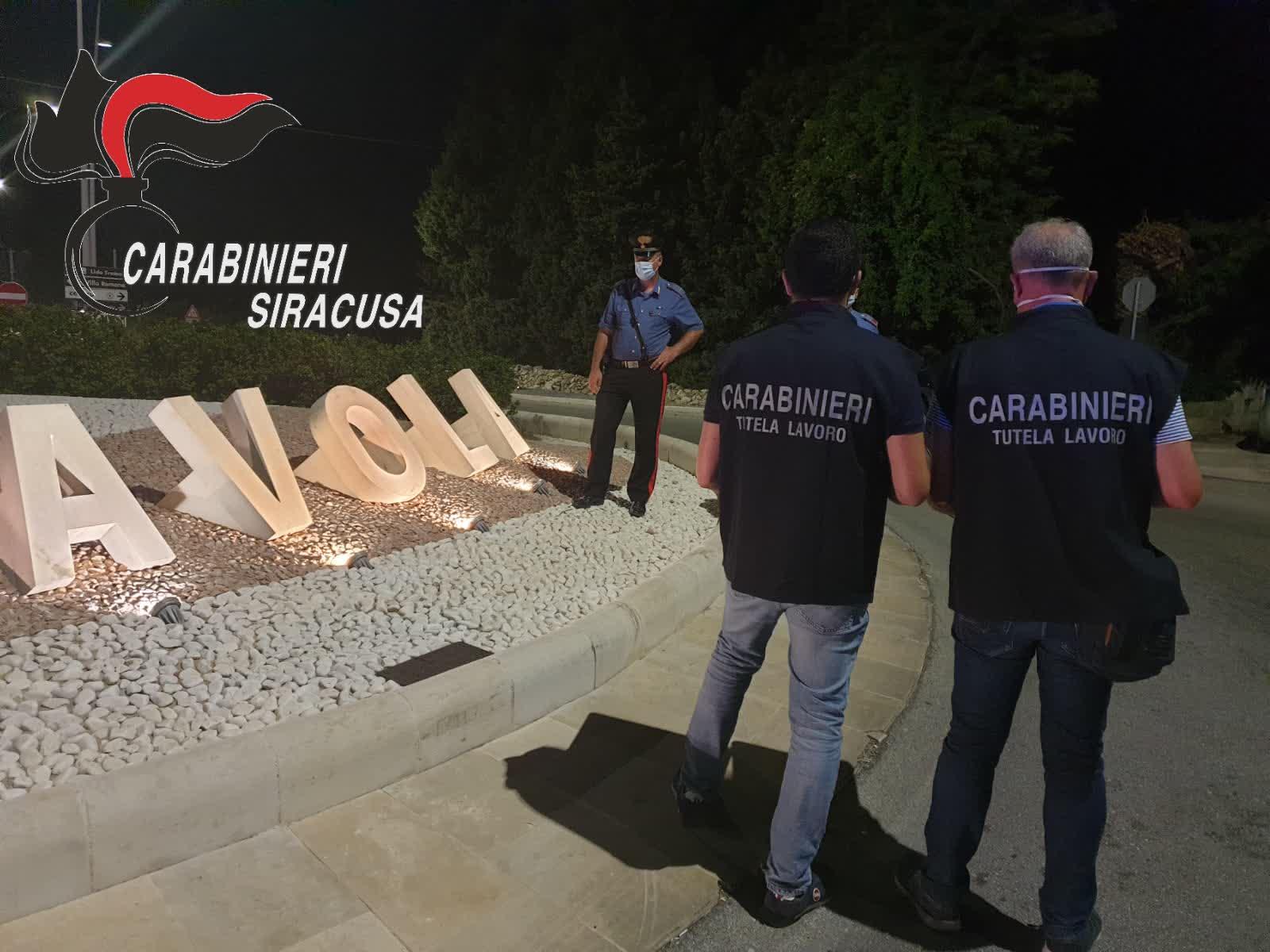 Ispezione in tre esercizi commerciali tra Avola e Palazzolo: scattano sanzioni