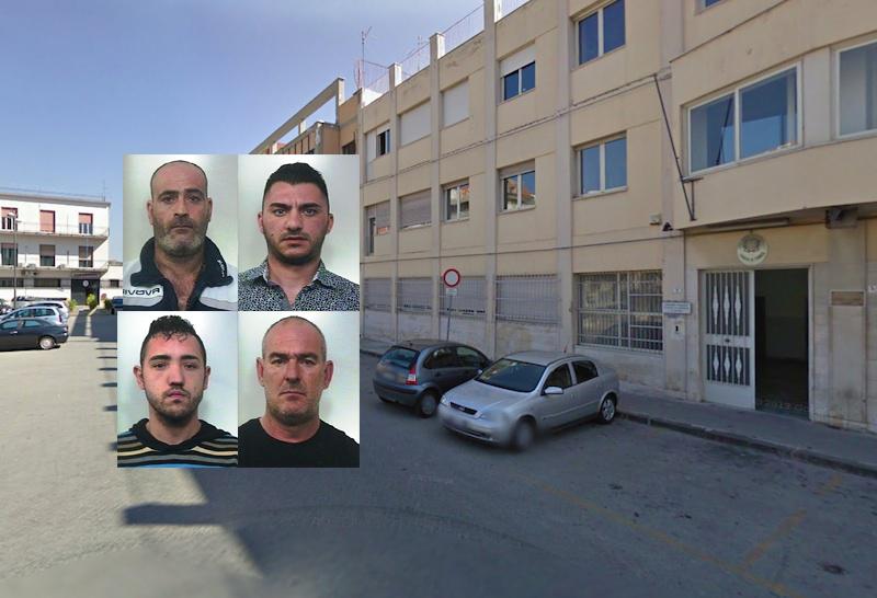 Racket delle estorsioni a Paternò, quattro persone finiscono in cella