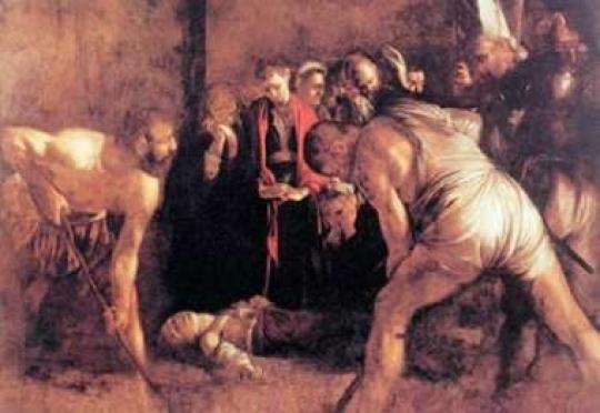 L'opera del Caravaggio a Taormina? Interrogazione al sindaco di Siracusa