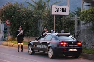 Rapina in villa tra Carini e Villagrazia: è caccia a cinque banditi