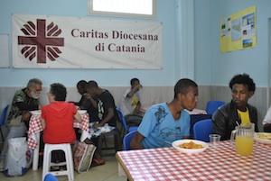 Catania, mensa Caritas aperta nei giorni di Pasqua e Pasquetta