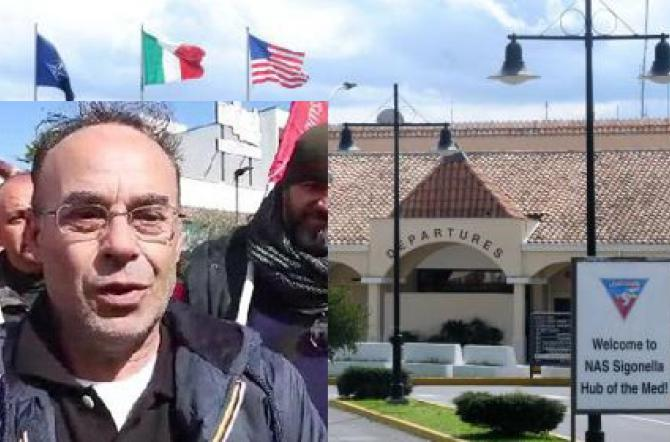 Sigonella, governo Usa perde causa ma non paga: e un ex dipendente protesta
