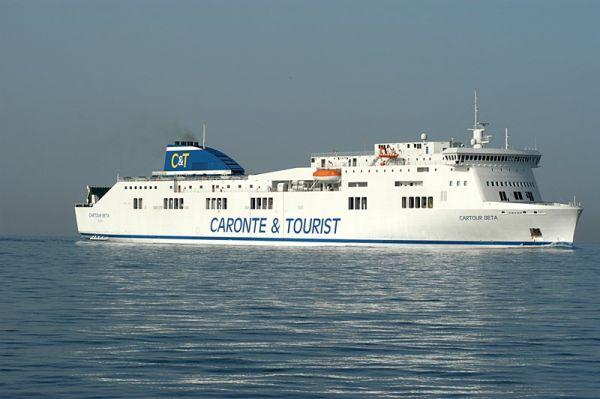 Trasporti, tre nuove navi a Messina per Caronte & Tourist