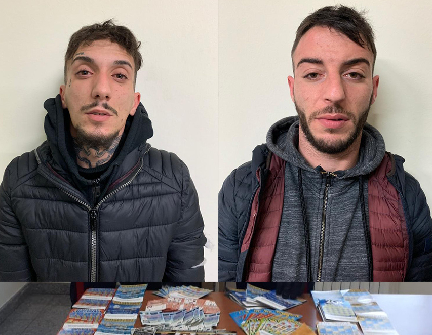 Furto con 'spaccata' in una tabaccheria a Floridia: arrestati due giovani