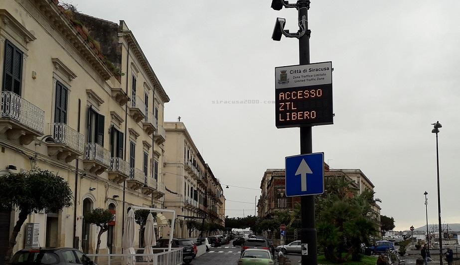 Siracusa, cambiano gli orari della Ztl nel centro storico di Ortigia