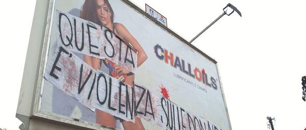 Pubblicità sessista a Palermo, dopo la protesta il Comune la oscura