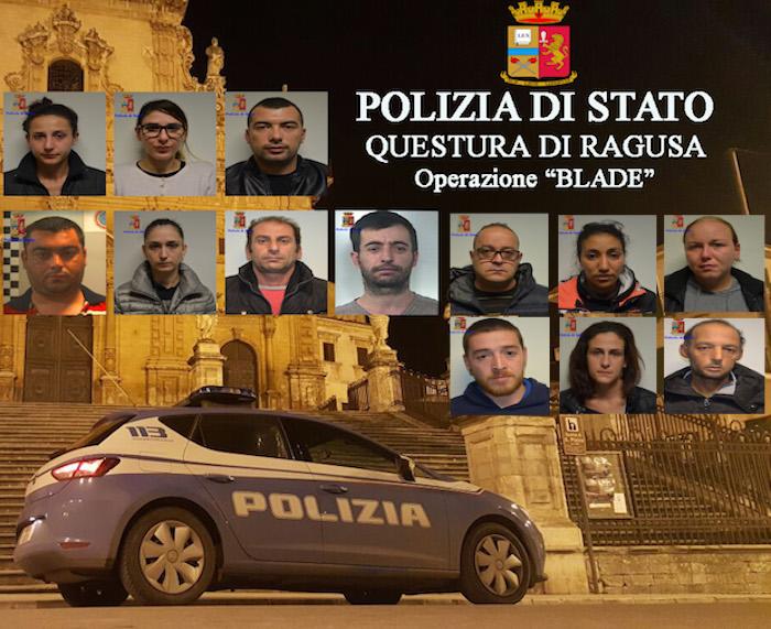Maxi operazione antidroga tra Modica e Scicli: 17 in carcere