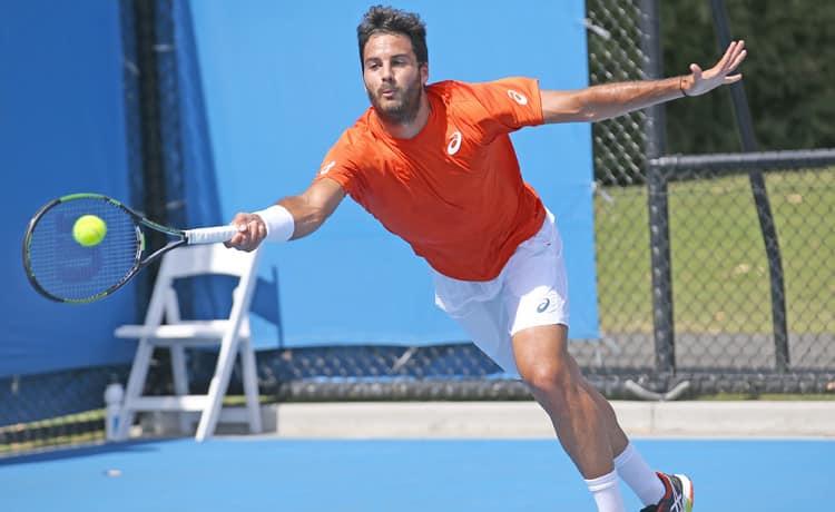 Tennis l 39 avolese caruso unico italiano al challenger in - Federico salvatore sulla porta ...