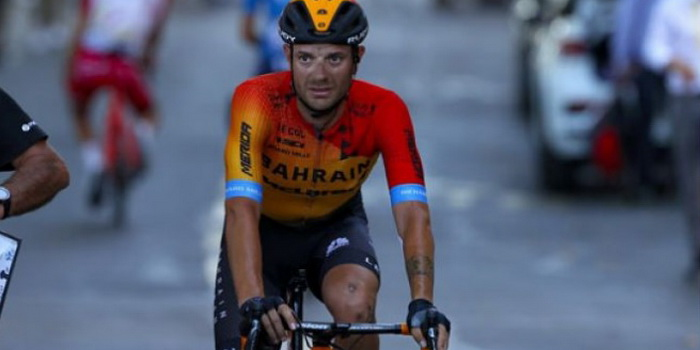 Ciclismo, il ragusano Caruso impeccabile nel Giro d'Italia: è terzo in classifica