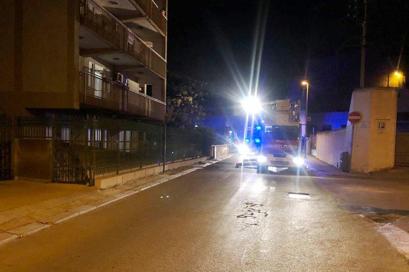 Marsala, scoppia un incendio in una  Casa di riposo per gli anziani