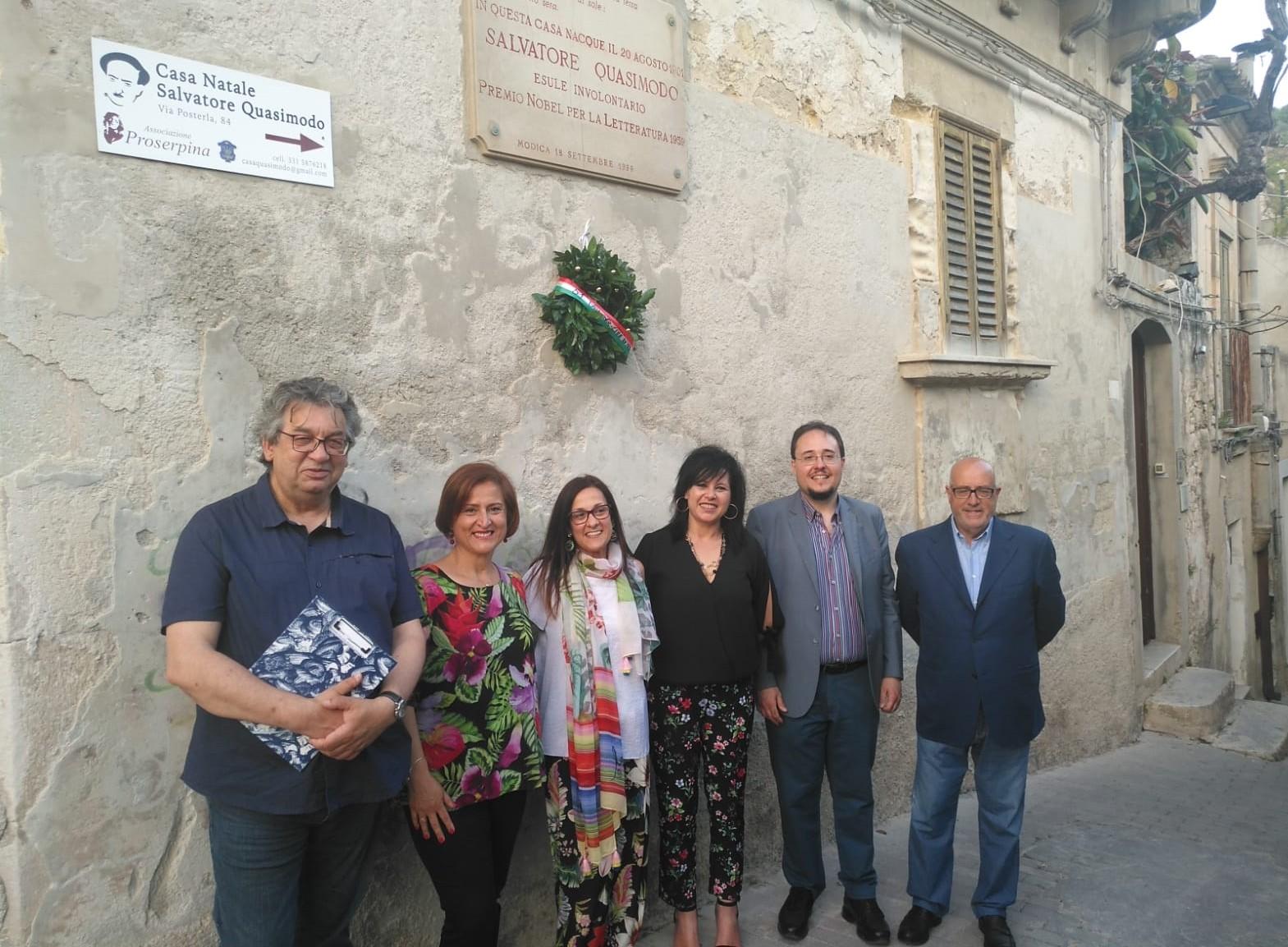 Modica, a Casa Quasimodo ricordato il 51° anniversario della morte del Nobel