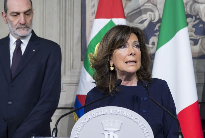 Governo - Mattarella sciogli i dubbi, incarico a Maria Casellati
