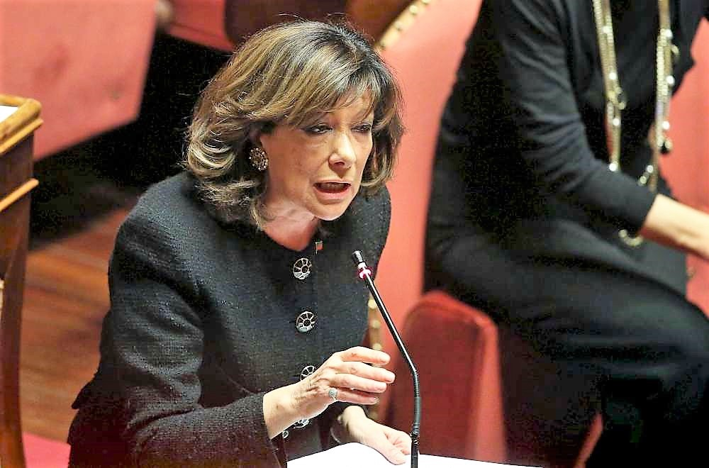 """La presidente del Senato Casellati: """"Grave conflitto Bonafede - Di Matteo"""""""