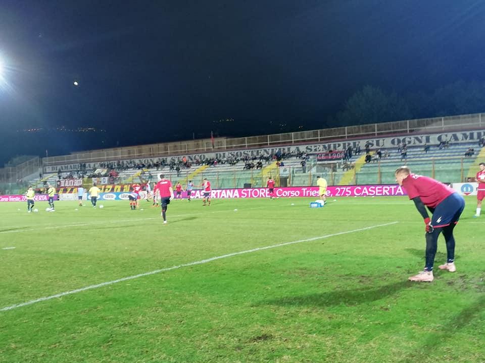 Il prefetto di Caserta vieta la vendita dei biglietti ai tifosi del Catania