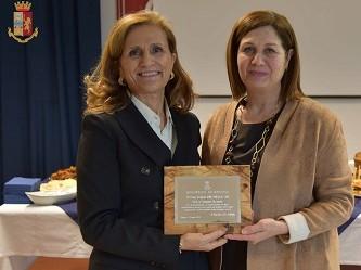 Questura Ragusa, in pensione il primo dirigente Giovanna Cassarino