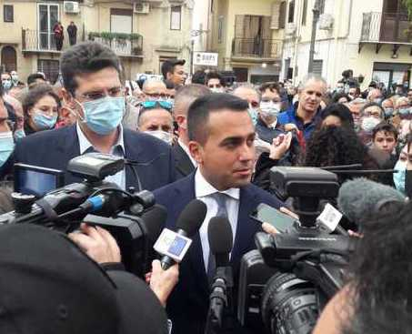 Di Maio a Casteltermini: Recovery? Tutti vogliono metterci le mani