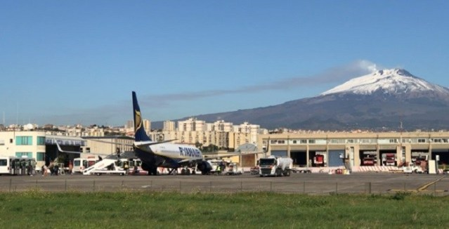 Disagi dall'11 al 20 marzo  negli arrivi all'aeroporto di Catania per lavori