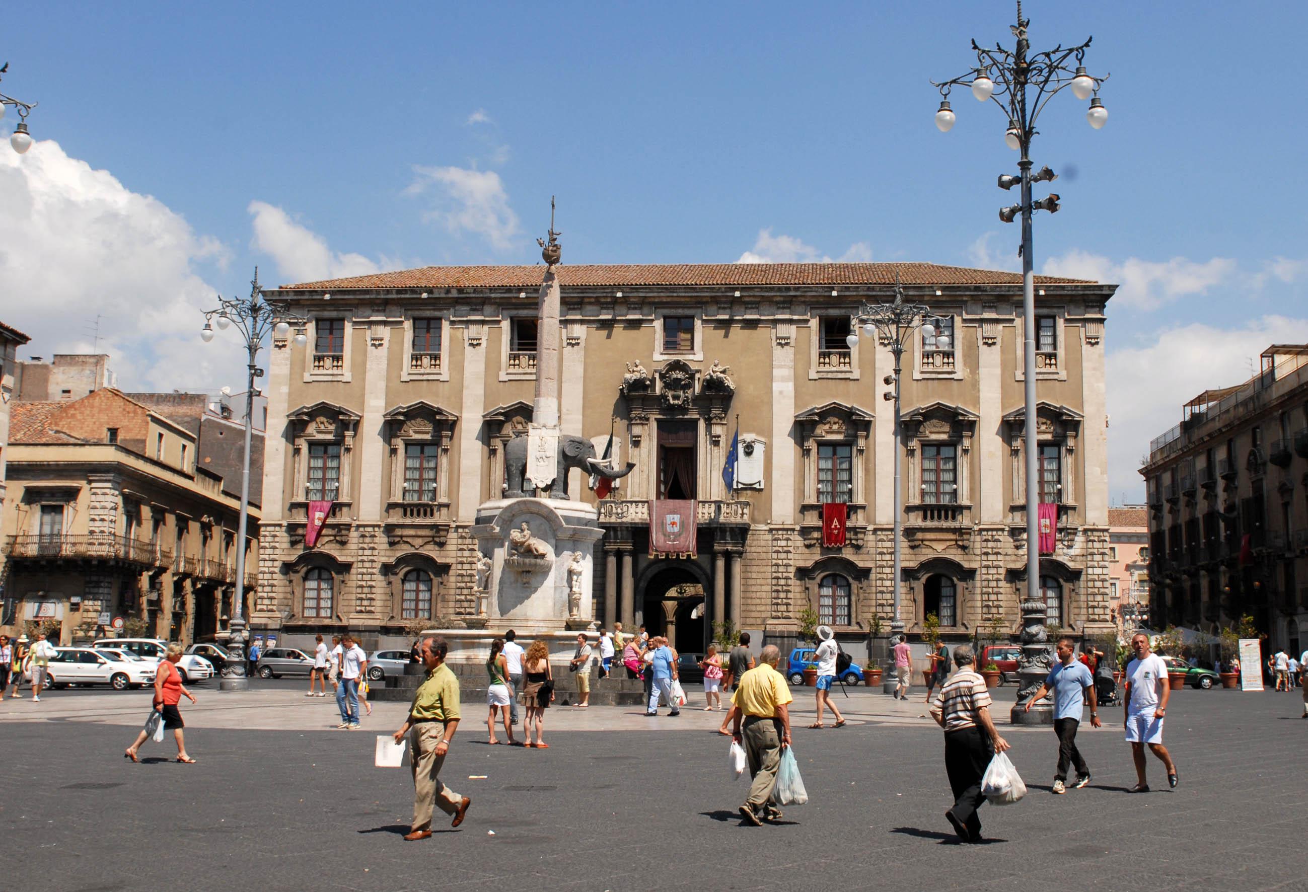 Il Comune di Catania ha un