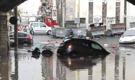 Allerta meteo rosso su Catania, domani scuole chiuse nel capoluogo