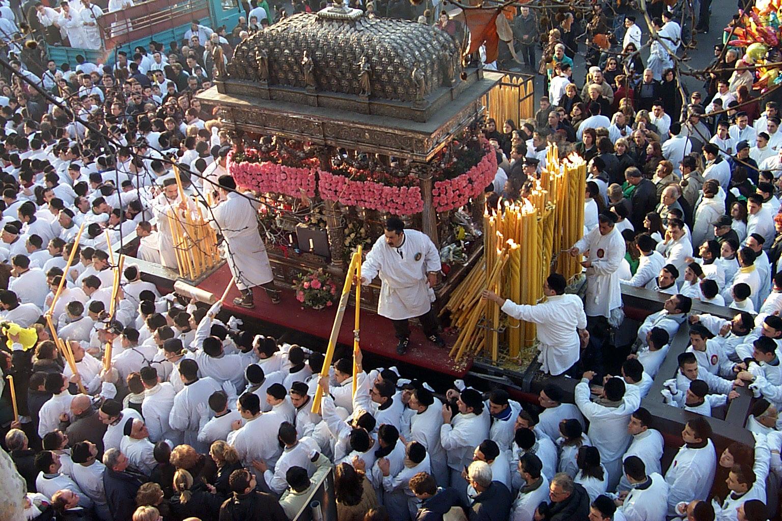 Catania, la Festa di Sant'Agata riconosciuta come Eredità Immateriale