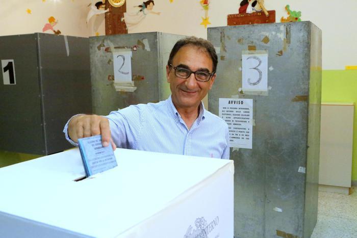 Sergio Abramo è il sindaco di Catanzaro per la quarta volta