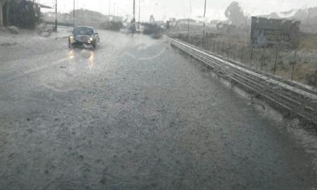 Bomba d'acqua e grandine in provincia di Catanzaro