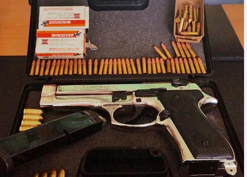 Paternò, aveva in auto pistola e munizioni: arrestato