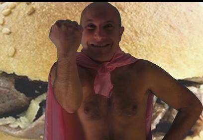 Torna MilzaMan, primo supereroe palermitano