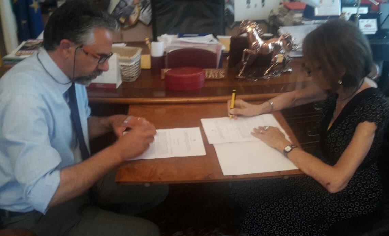 Modica, firmato il protocollo per le manutenzioni a Cava Ispica
