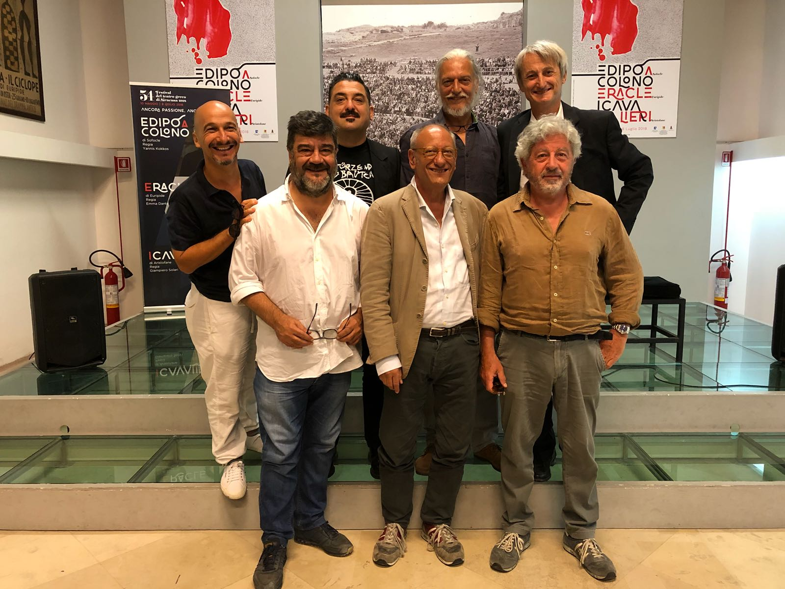 """""""I Cavalieri"""", la commedia di Aristofane in scena al Teatro di Siracusa"""