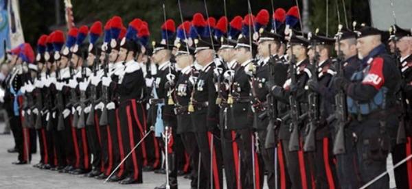 Ragusa, celebrata la ricorrenza dei 203 anni dalla fondazione dell'Arma