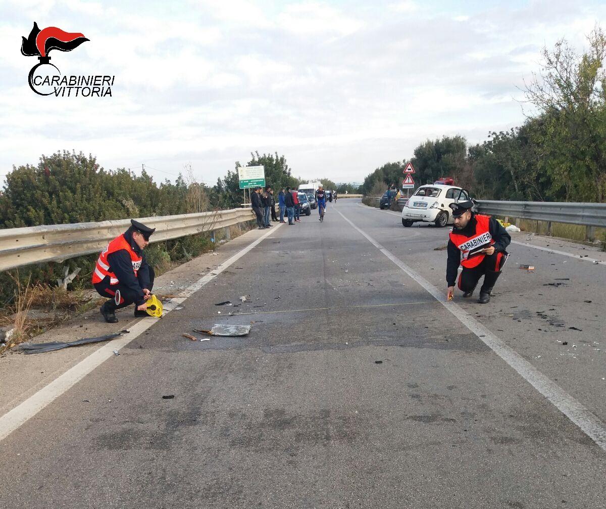 Comiso, auto contro guardrail: muore ragazzo di 21 anni