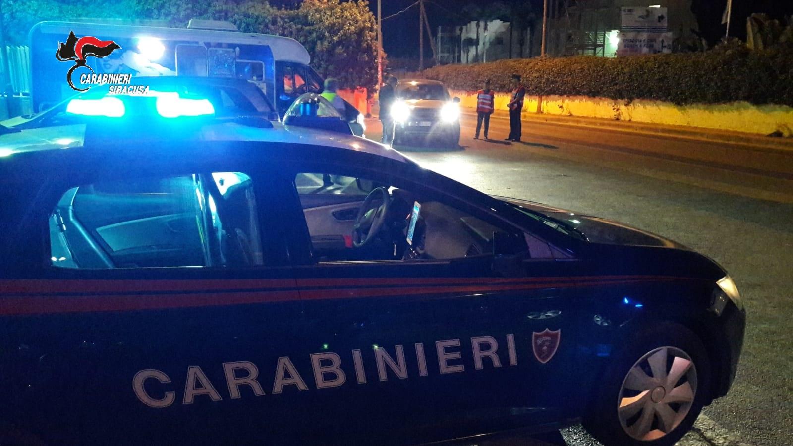 Pachino e Marzamemi a ferro e fuoco per 24 ore: dieci persone denunciate