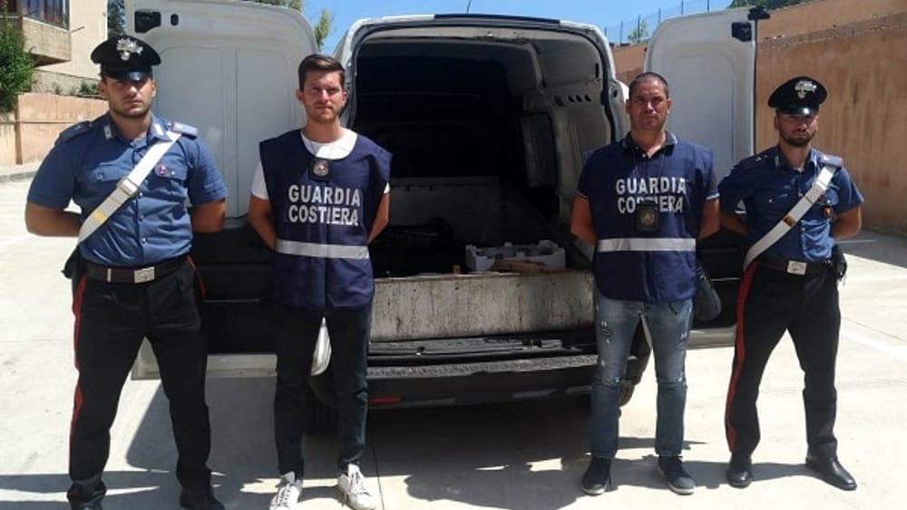 Sequestrato a Palermo 160 chili pesce non tracciato