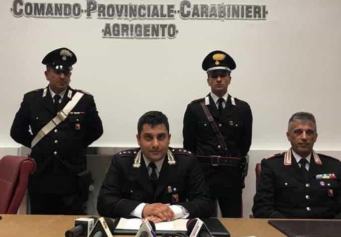 Droga tra i bagagli da Palermo in bus: arrestati cinque pusher a Licata
