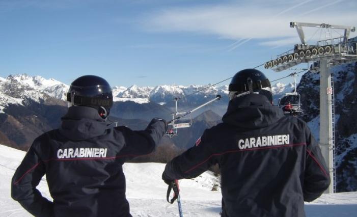 Catania, sono entrati in servizio i Carabinieri sciatori
