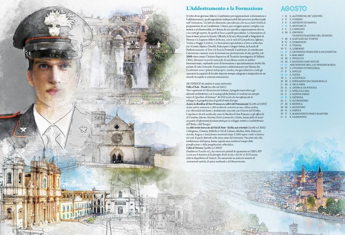 Ragusa, presentati il calendario e l'agenda 2019 dei Carabinieri