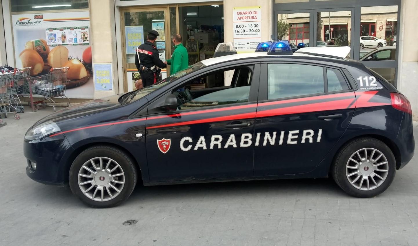 Modica, evade dai domiciliari ed aggredisce i Carabinieri: arrestato