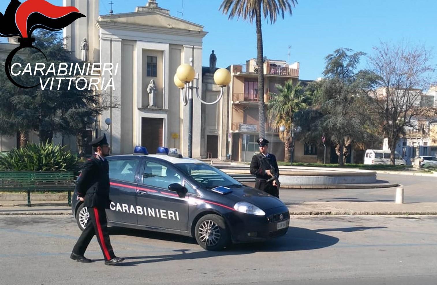 Carabinieri: controlli a Vittoria, Comiso e Acate: scattano tre arresti