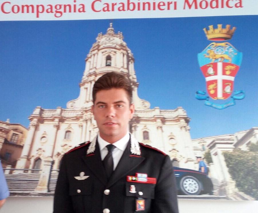 Modica, il capitano Edoardo Cetola lascia la Compagnia Carabinieri