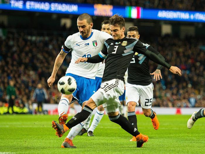 Argentina-Italia 2-0, l'Albiceleste passeggia contro gli azzurri