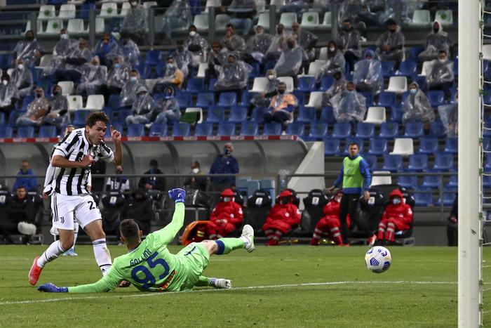 La Juventus si riscopre grande e affonda l'Atalanta (2 a 1): la Coppa Italia si colora di bianconero