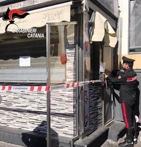 Chiuso a Catania un chiosco: era punto di ritrovo per pregiudicati