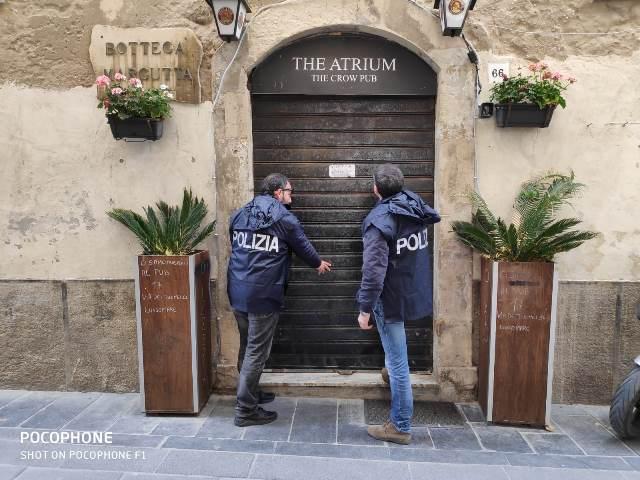 Siracusa,  il Questore ordina la chiusura del pub ex Atrium a Ortigia