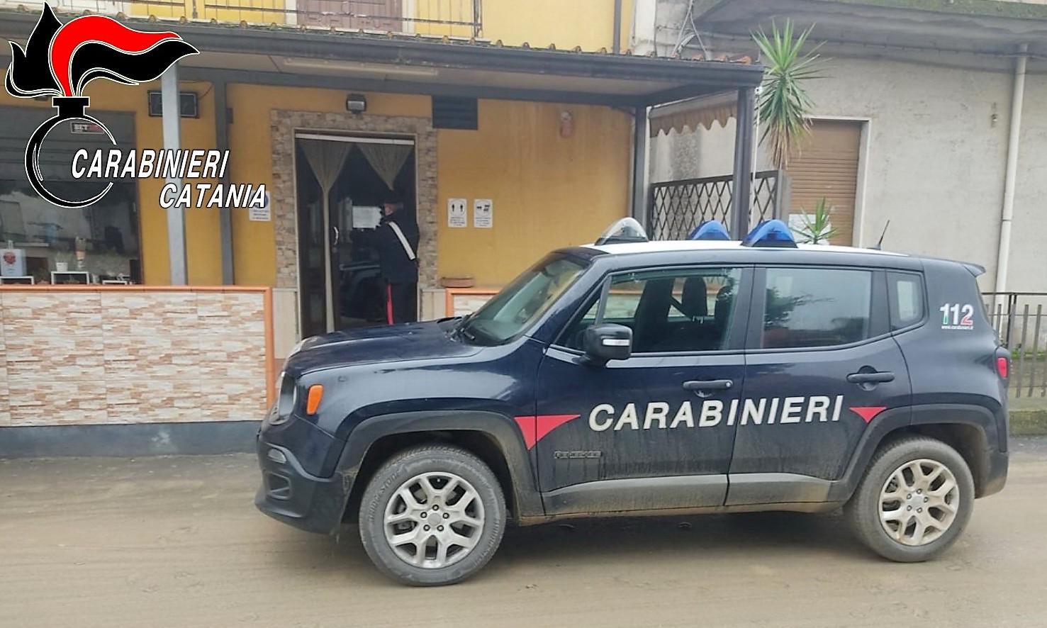 Controlli anti covid nel Catanese: chiuso bar a Castel di Iudica e un chiosco