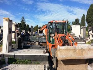 Catania, completata la manutenzione straordinaria del verde al cimitero